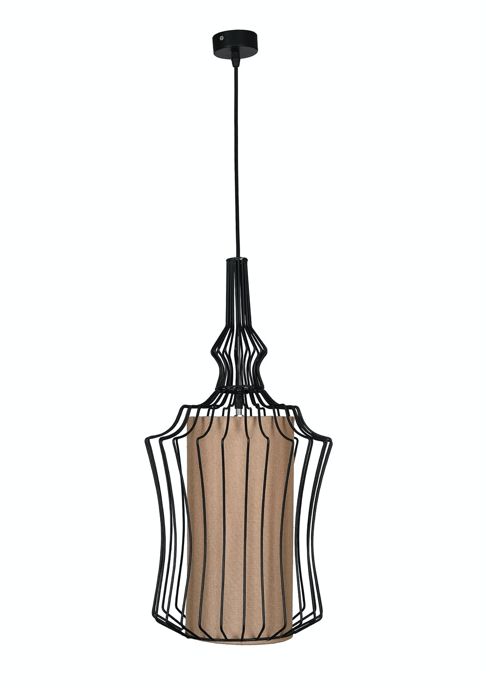 Hanging Light- Cage Shaped