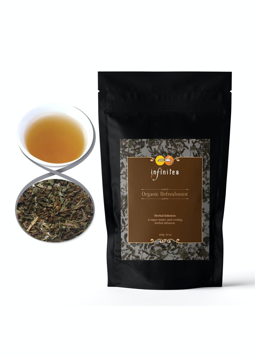 Organic Refreshmint - Herbal Infusion (100gm)