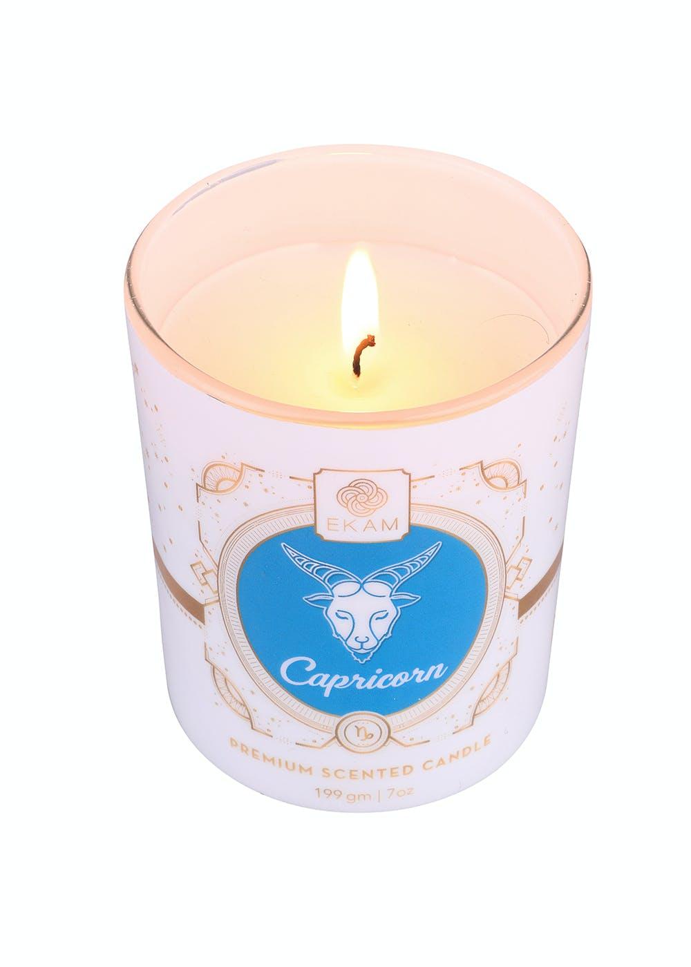 Capricorn Zodiac Scented Candle - 199g