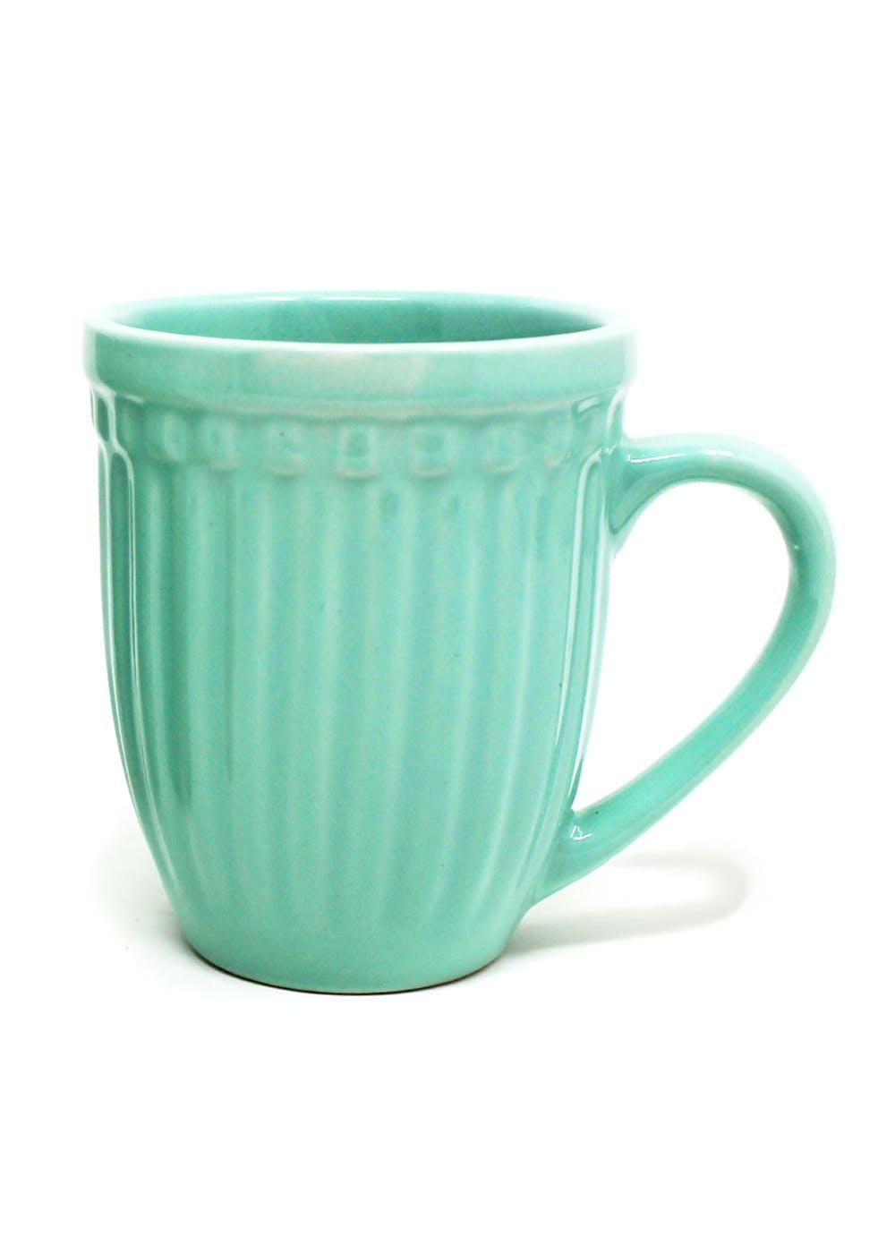 Glam Matte Ceramic Mug - Mint