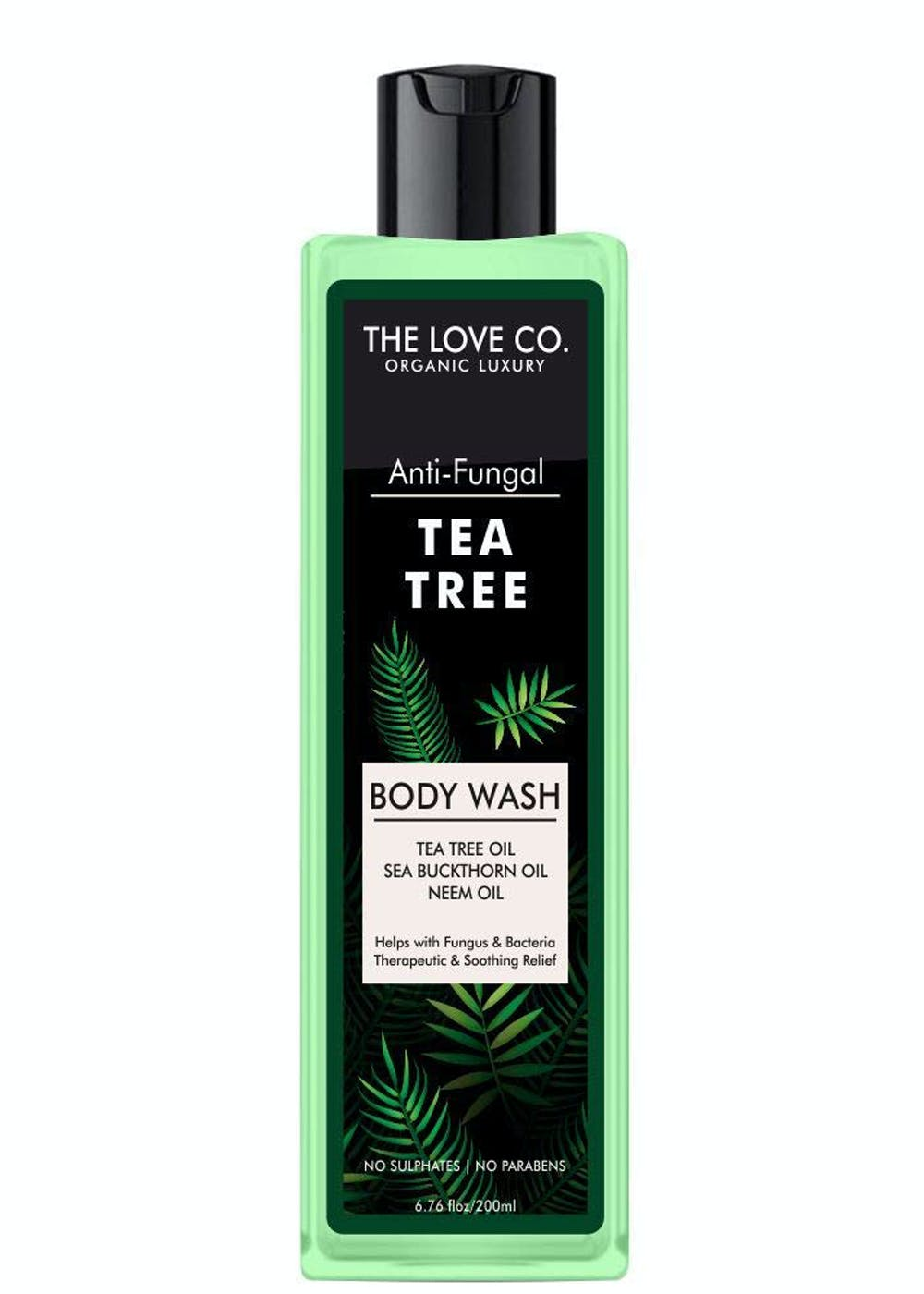 Luxury Natural Tea Tree Body Wash, Natural and Organic Deep Cleaning Shower Gel - 200 ML