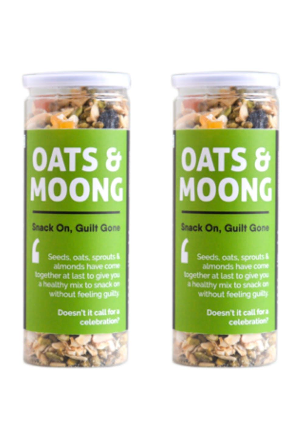 Oats & Moong Mix - Pack of 2