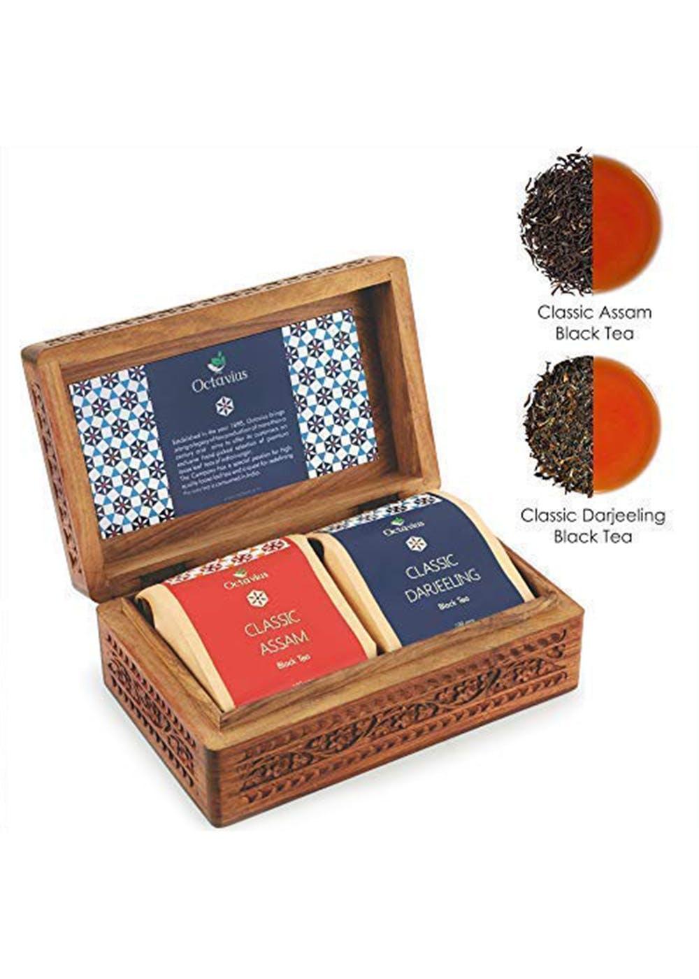 Indian Tea Collection - Set of 2 Black Loose Leaf Tea
