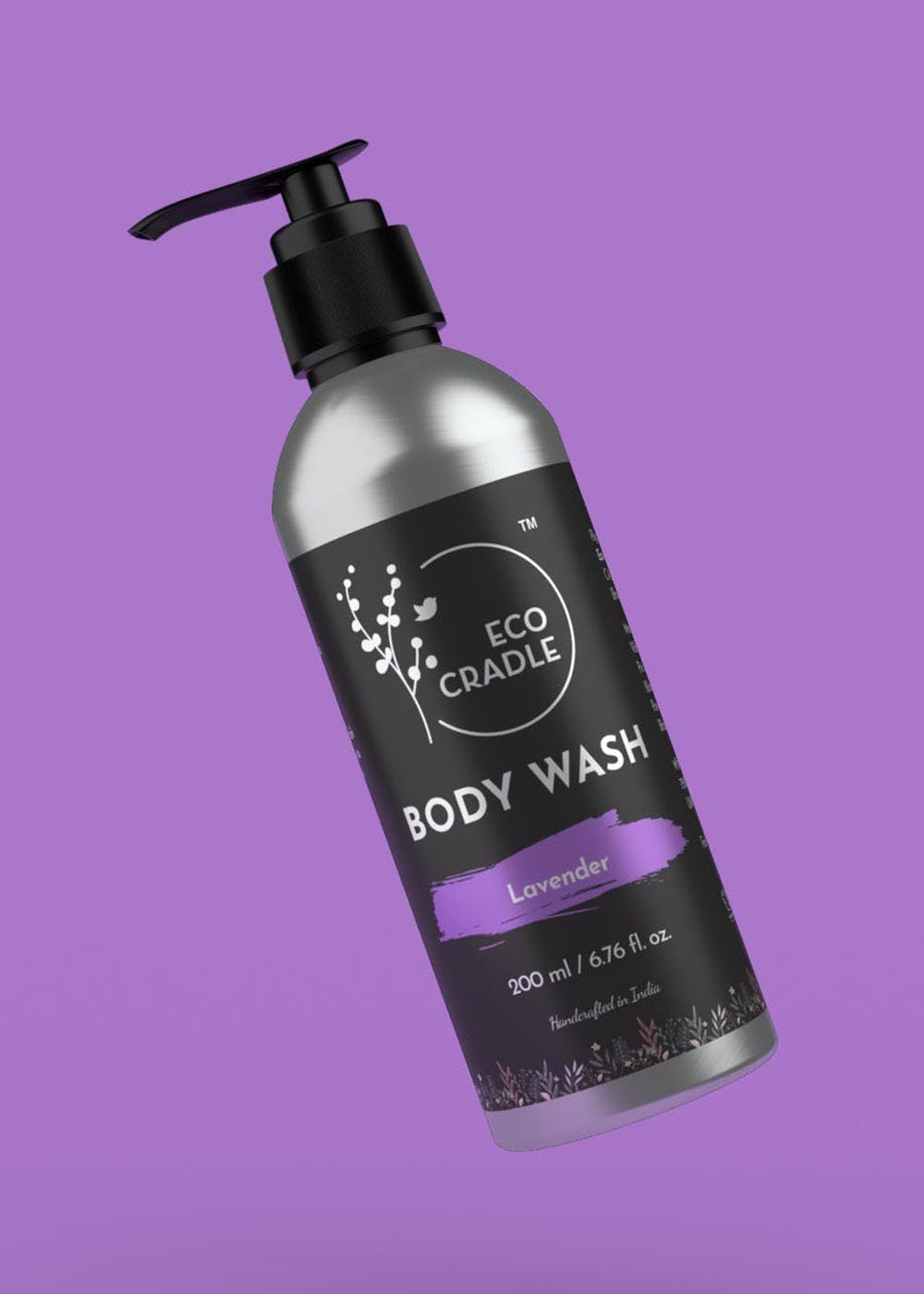 Soothing Smell Aromatherapy Skin Purifying Lavender Body Wash - 200ml