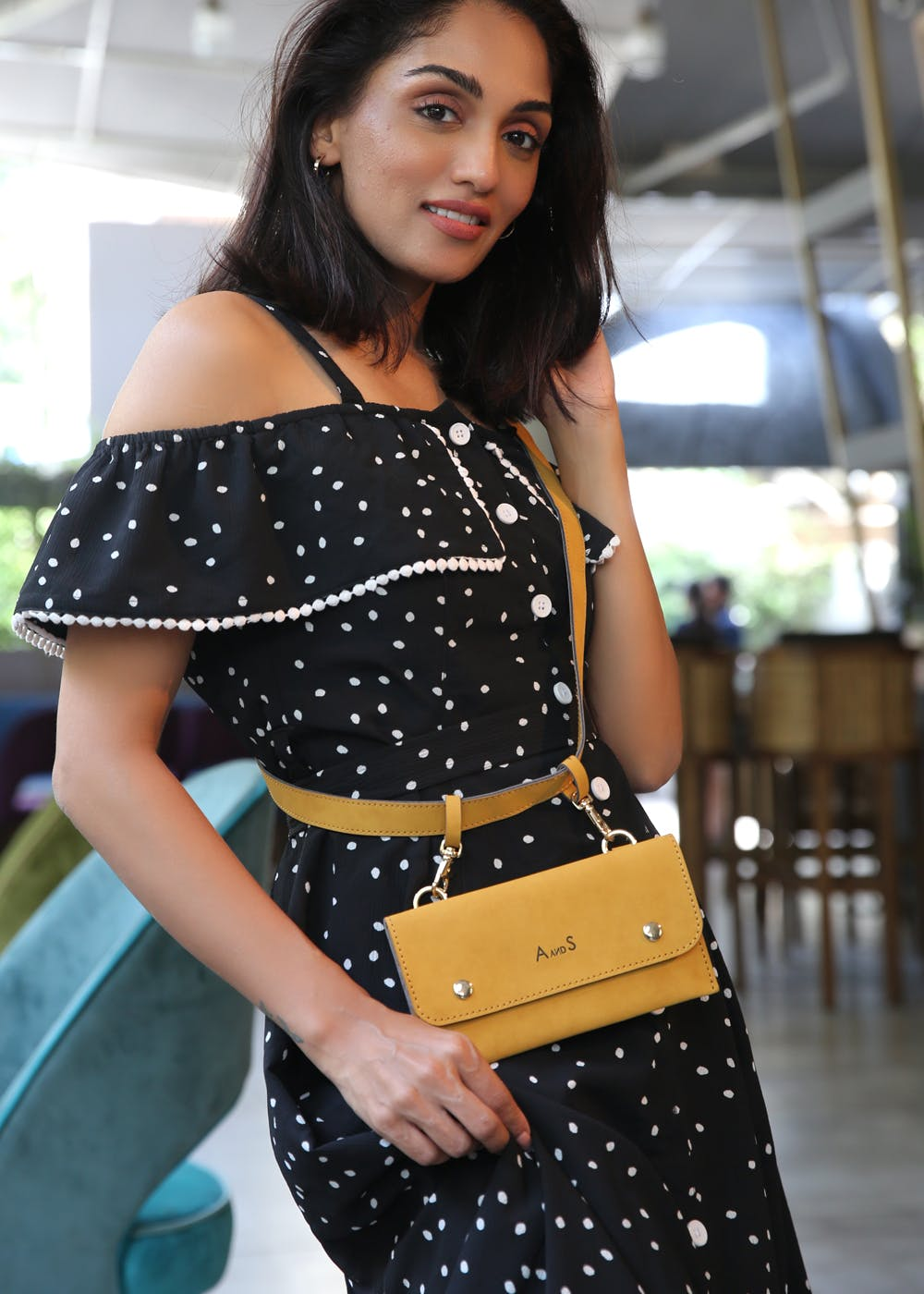 Detachable Envelope Bag With Belt