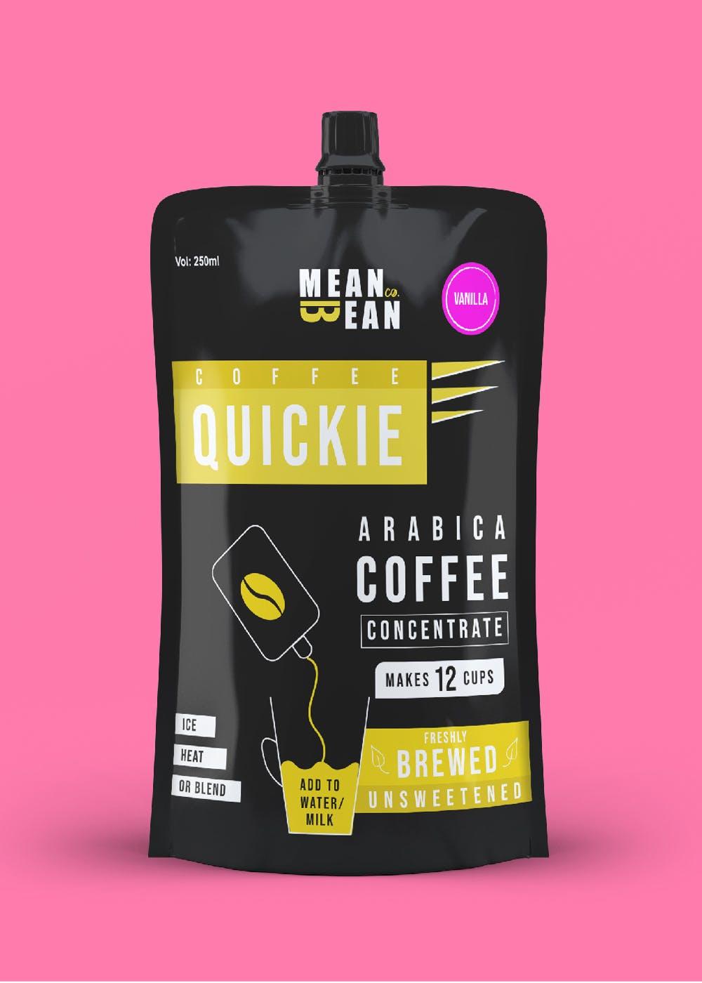 Coffee Quickie Arabica Coffee Concentrate - Vanilla (265g)