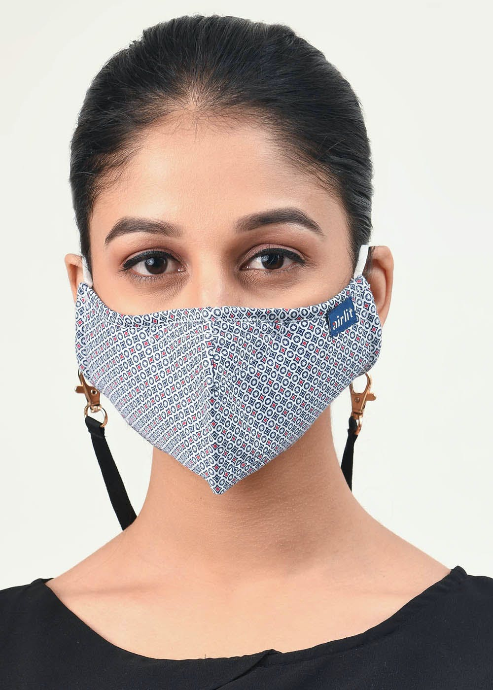 The Harlequin Mill Printed Reusable Mask