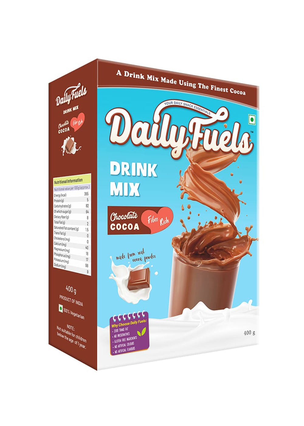 Chocolate Cocoa Drink Mix