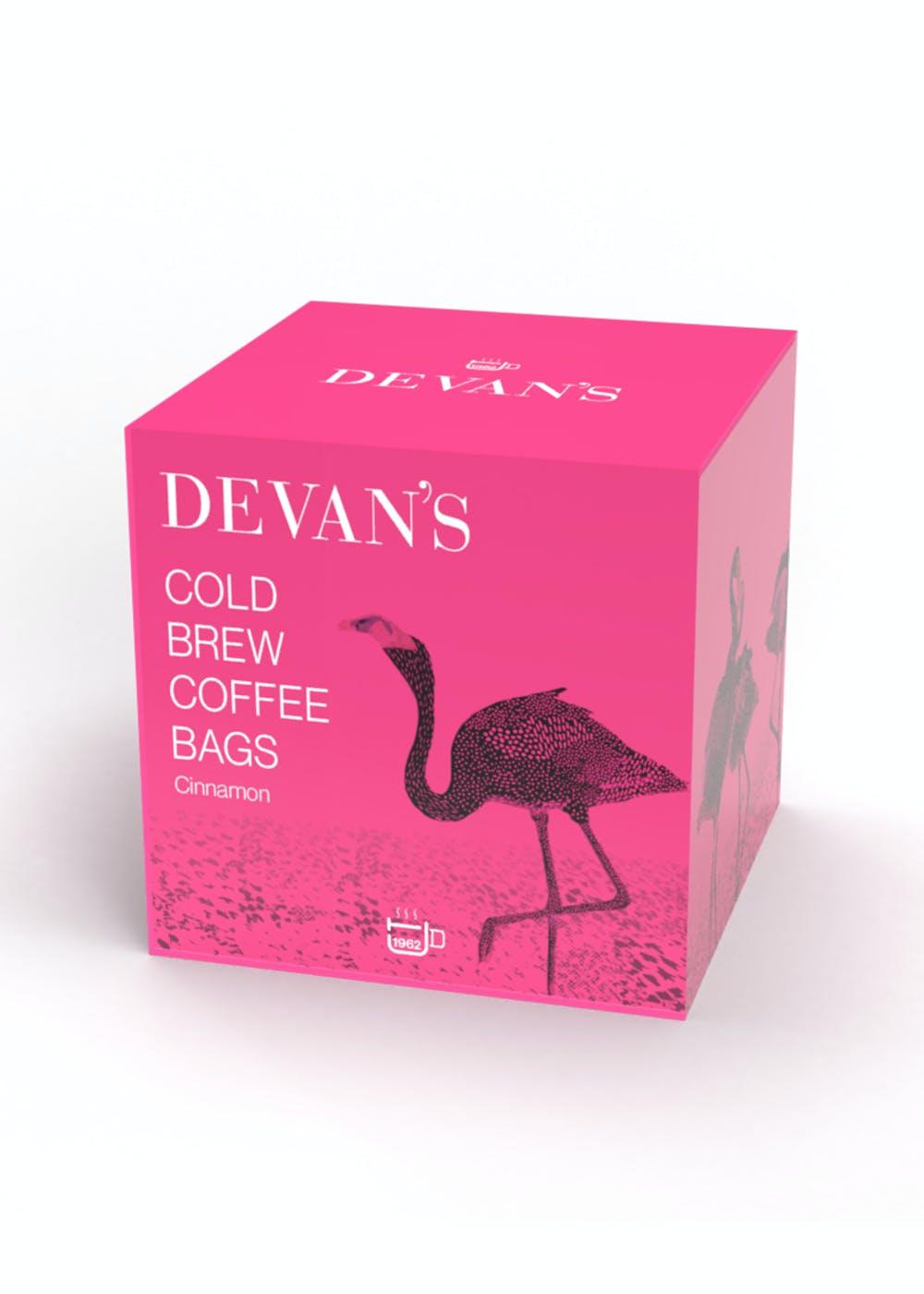 Cold Brew Coffee Bag  with Cinnamon - 5 Coffee Bags