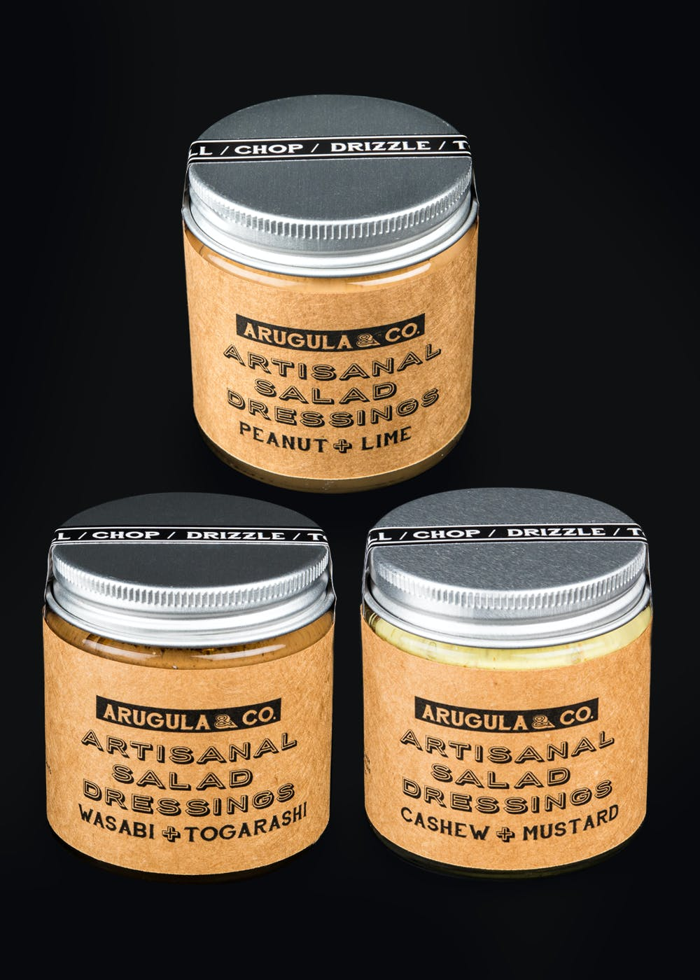 The Nut Butter Selection Pack Salad Dressing
