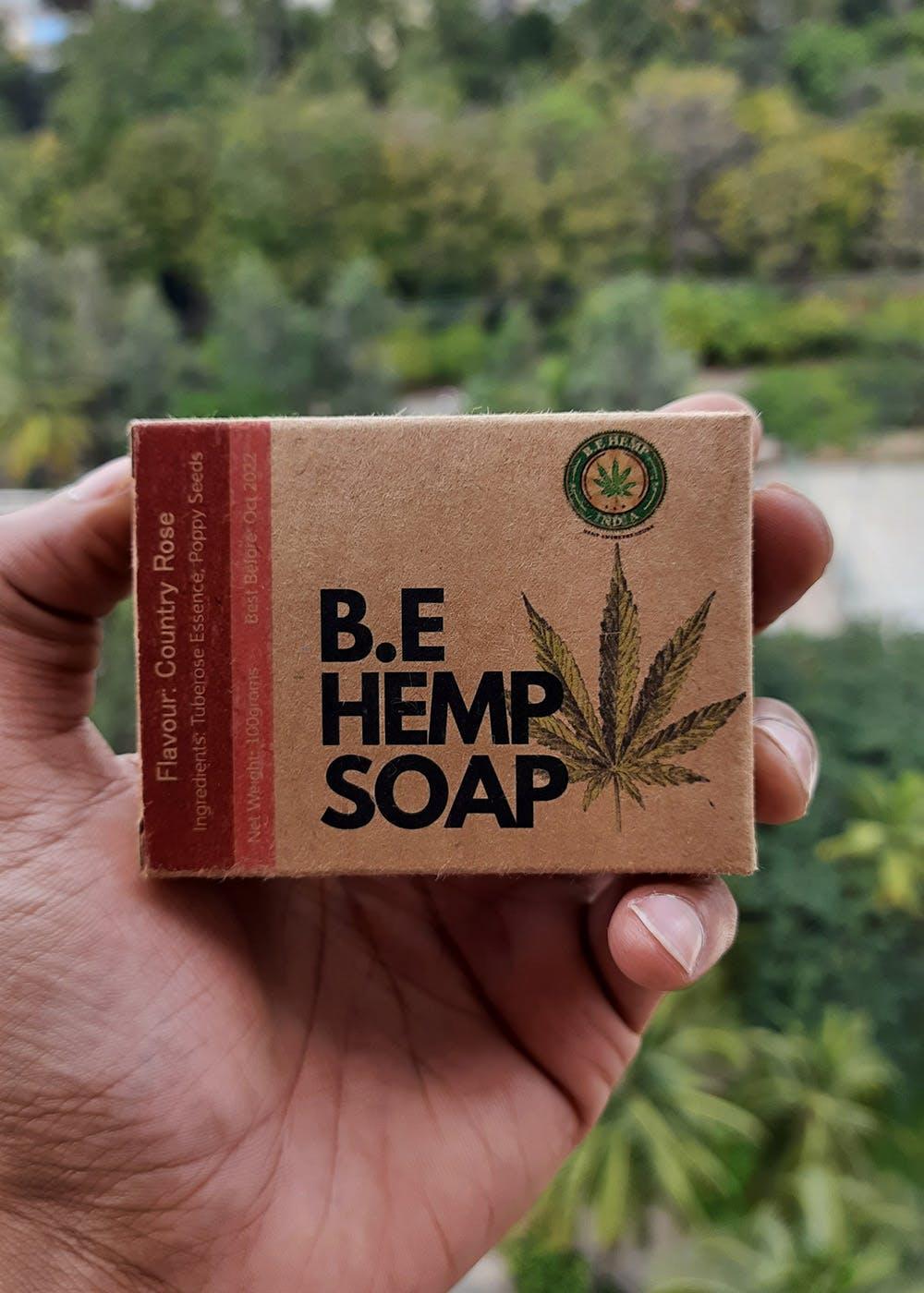 Vegan Hemp Soap - Country Rose