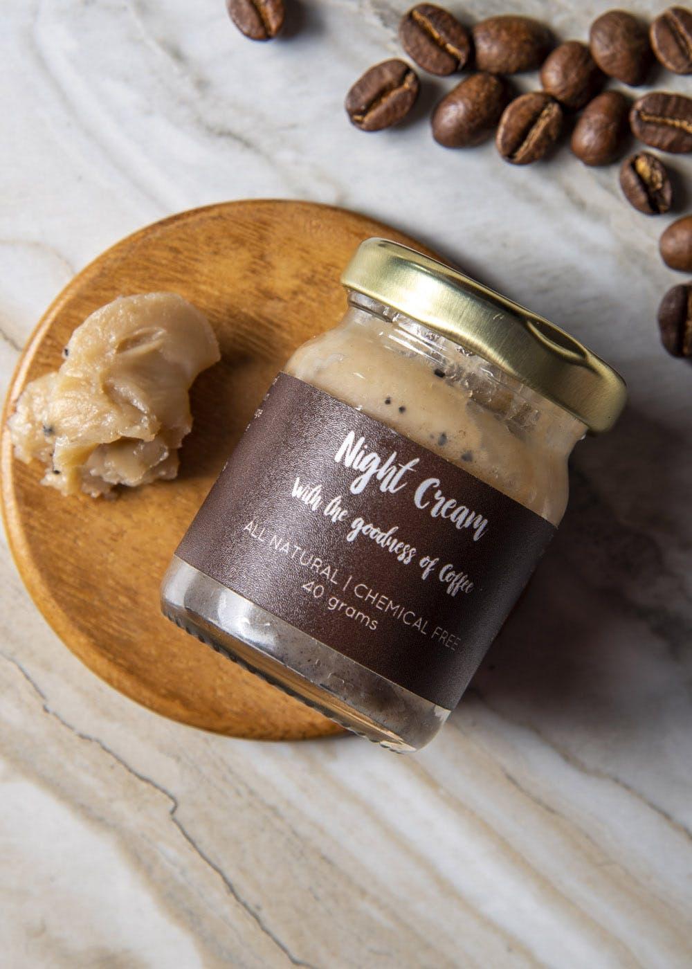 Natural Coffee Night Cream