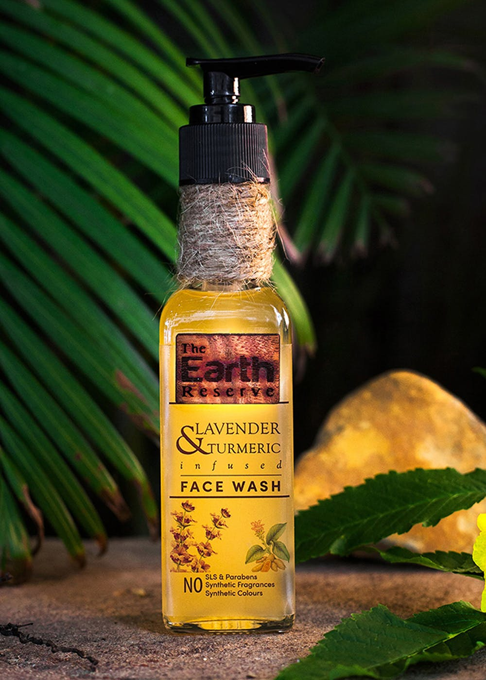 Lavender & Turmeric Infused Face Wash - 100ml