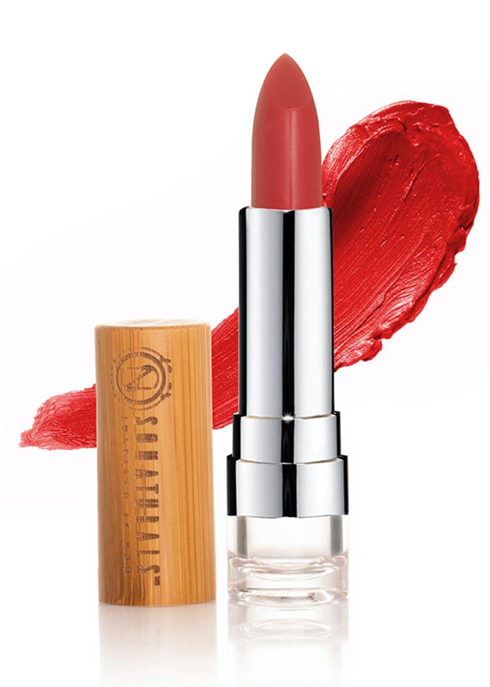 Vegan Matte Finish Lipstick Ghani-Ruby Red