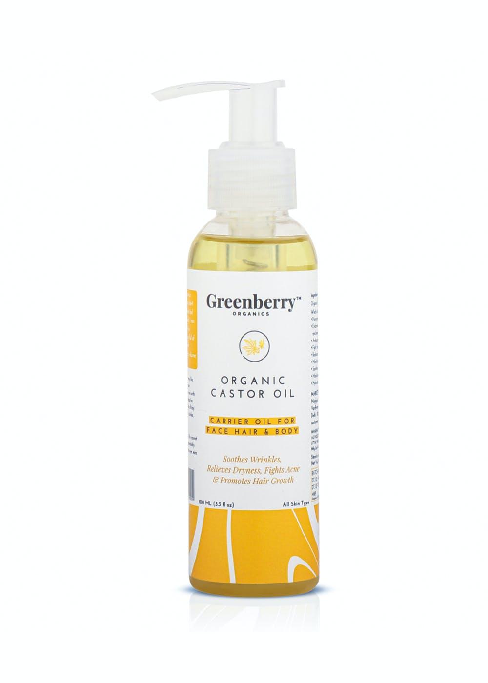 Organic Castor Oil - 120 ml