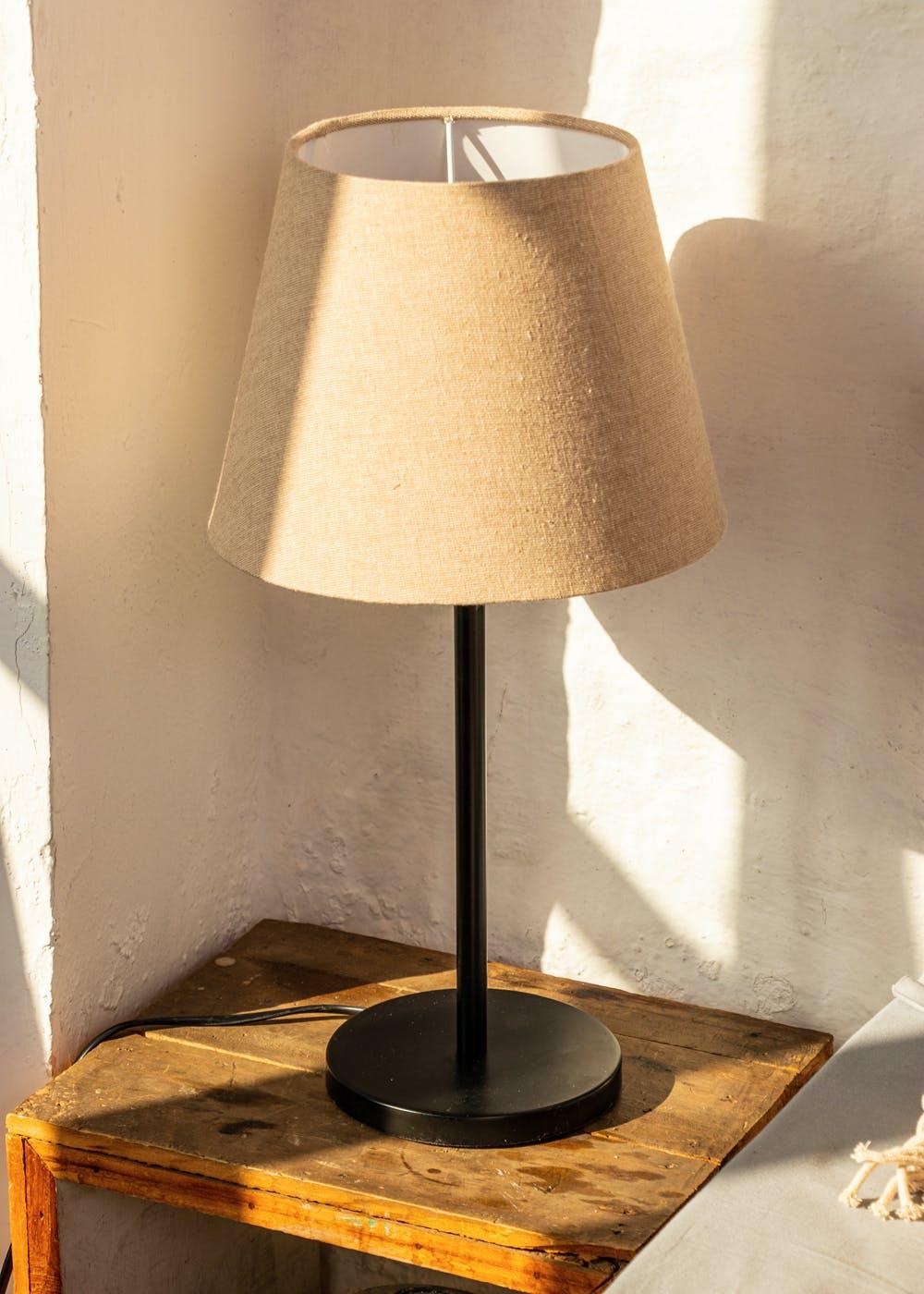 Decorative Metal Table Lamp