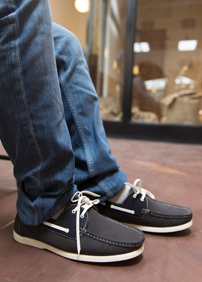 Lace Tie-Up Detail Faux Leather Casual Shoes
