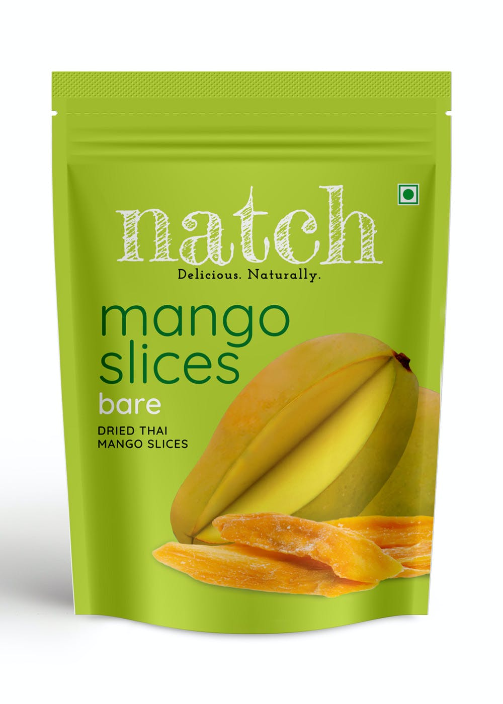 Dried Thai Mango Slices: Bare - Pack of 3 (150g Each)