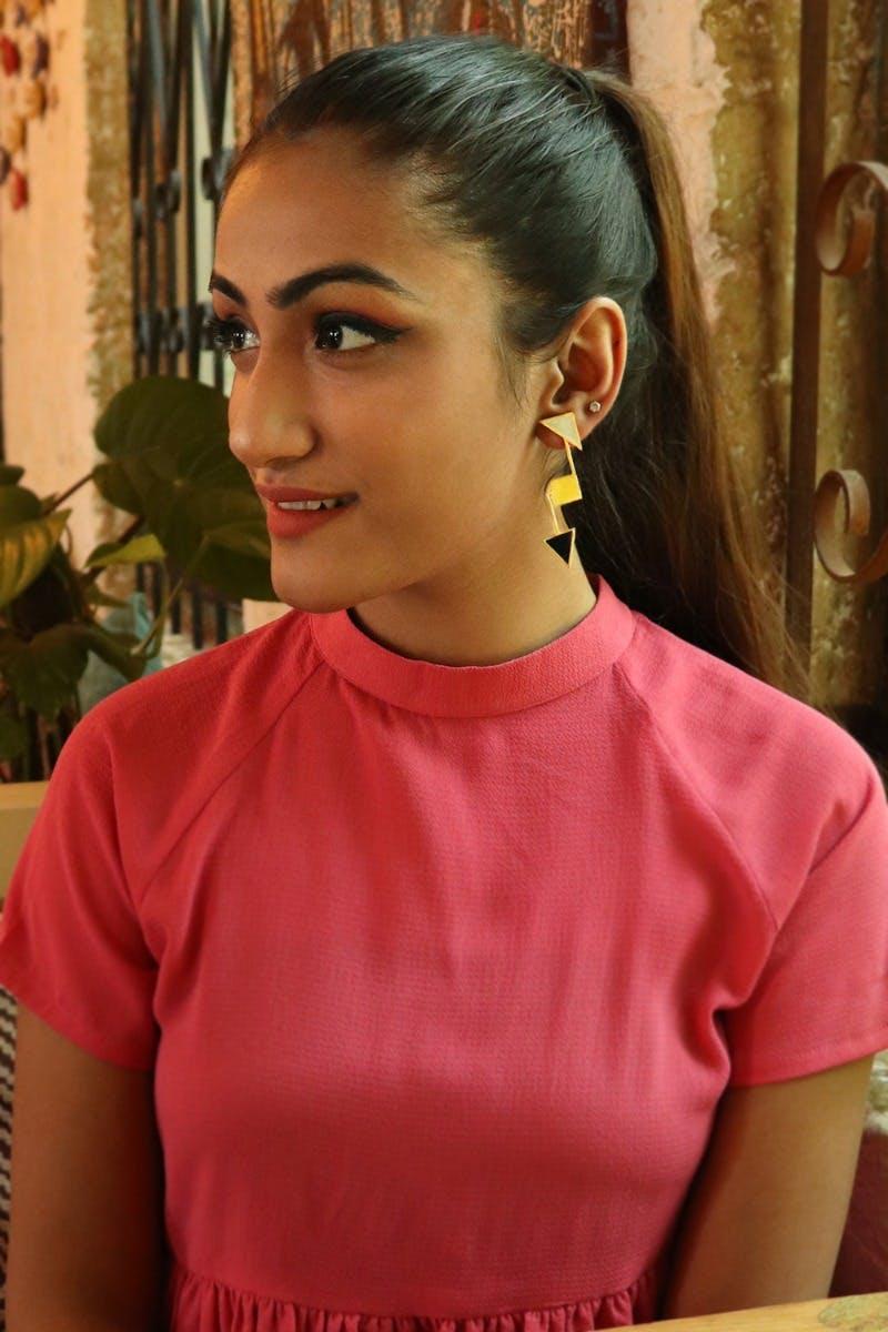 Two Direction Arrow Earrings