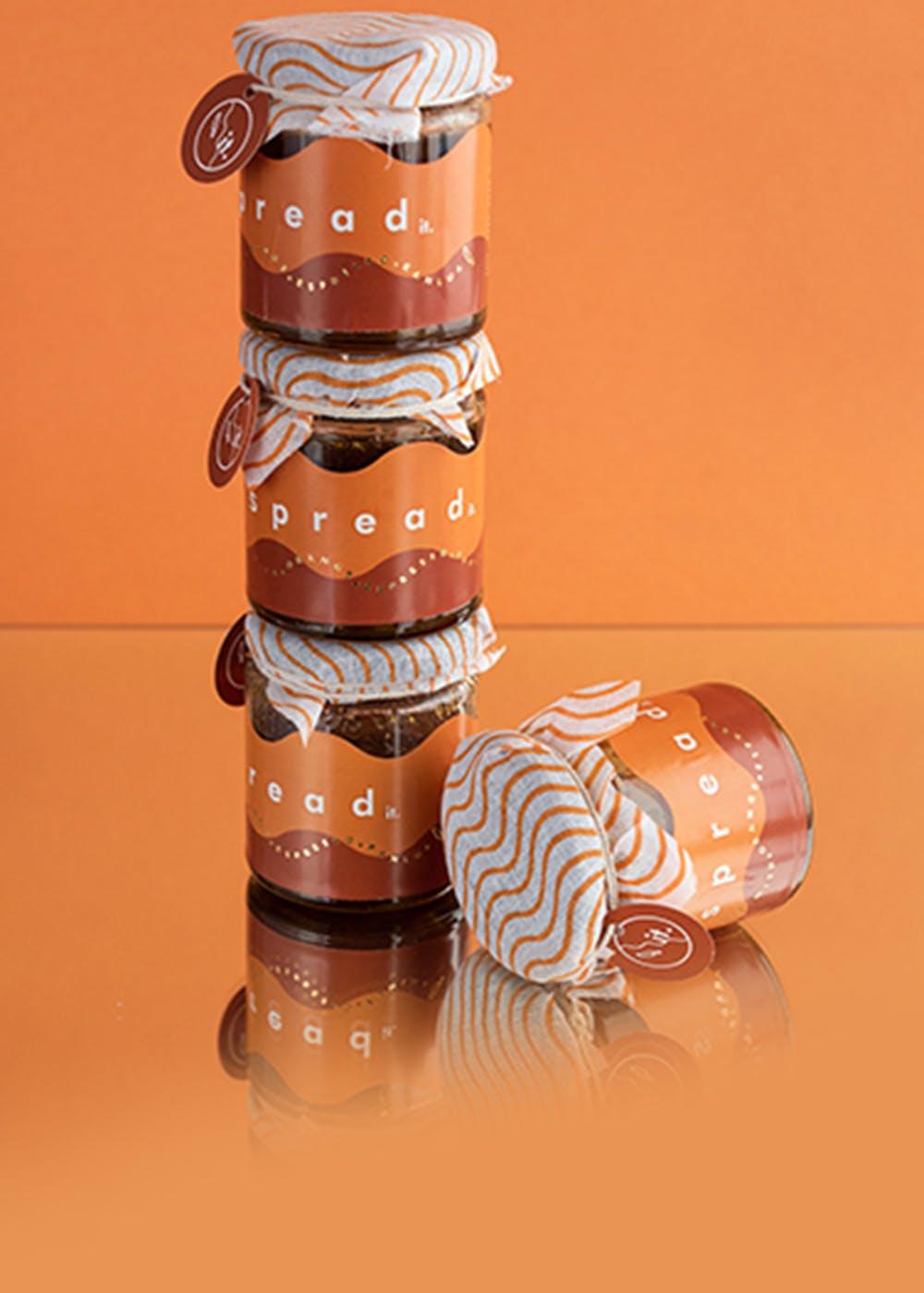 Orange Espresso Spread - 400 Grams