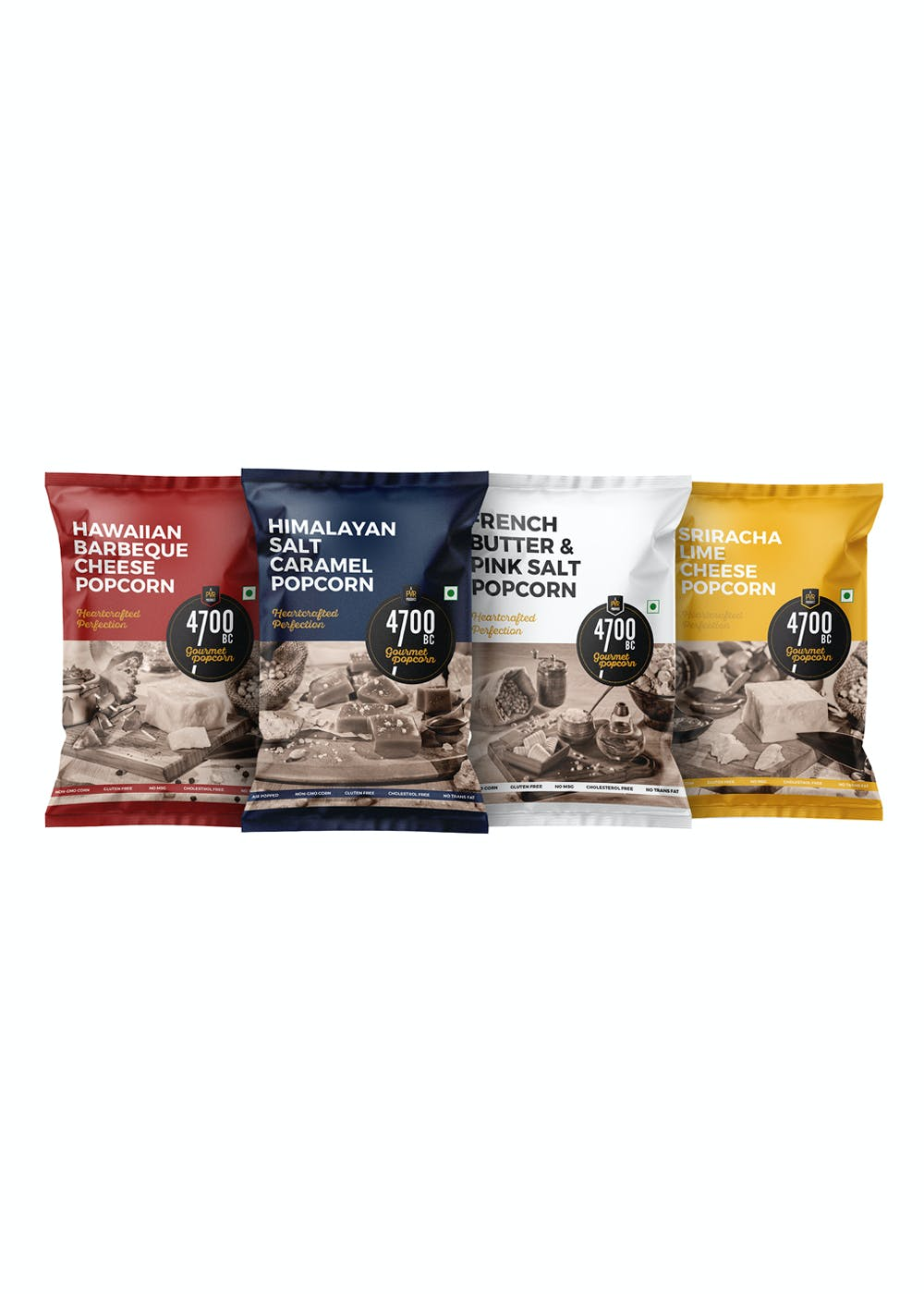 Combo Pouches - Pack of 4