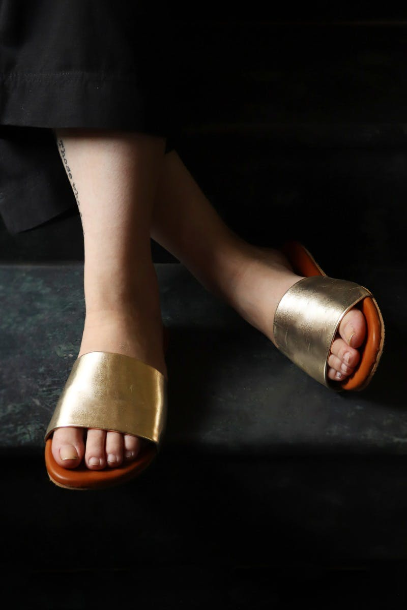 Metallic Broad Belt Slides