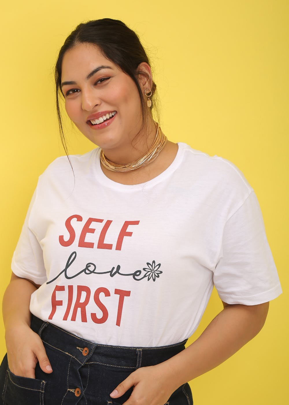 Self Love First Graphic T-Shirt