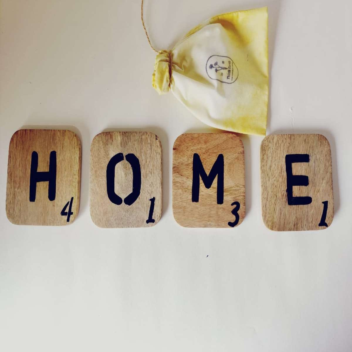 Scrabble Letter Tags (HOME)
