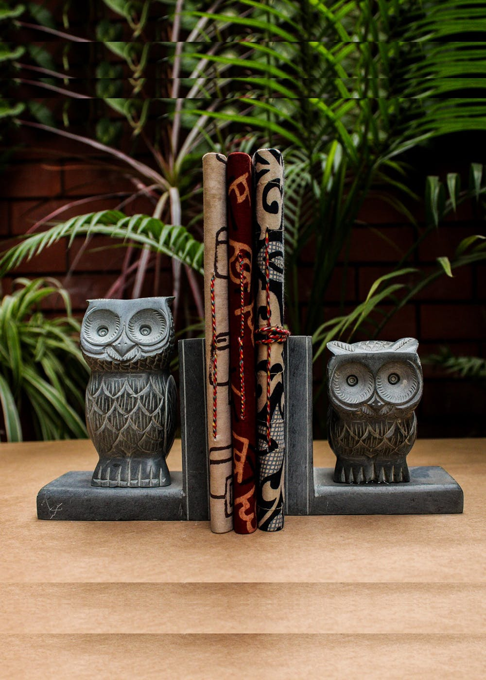 Palewa Stone Handcrafted Owl Bookend