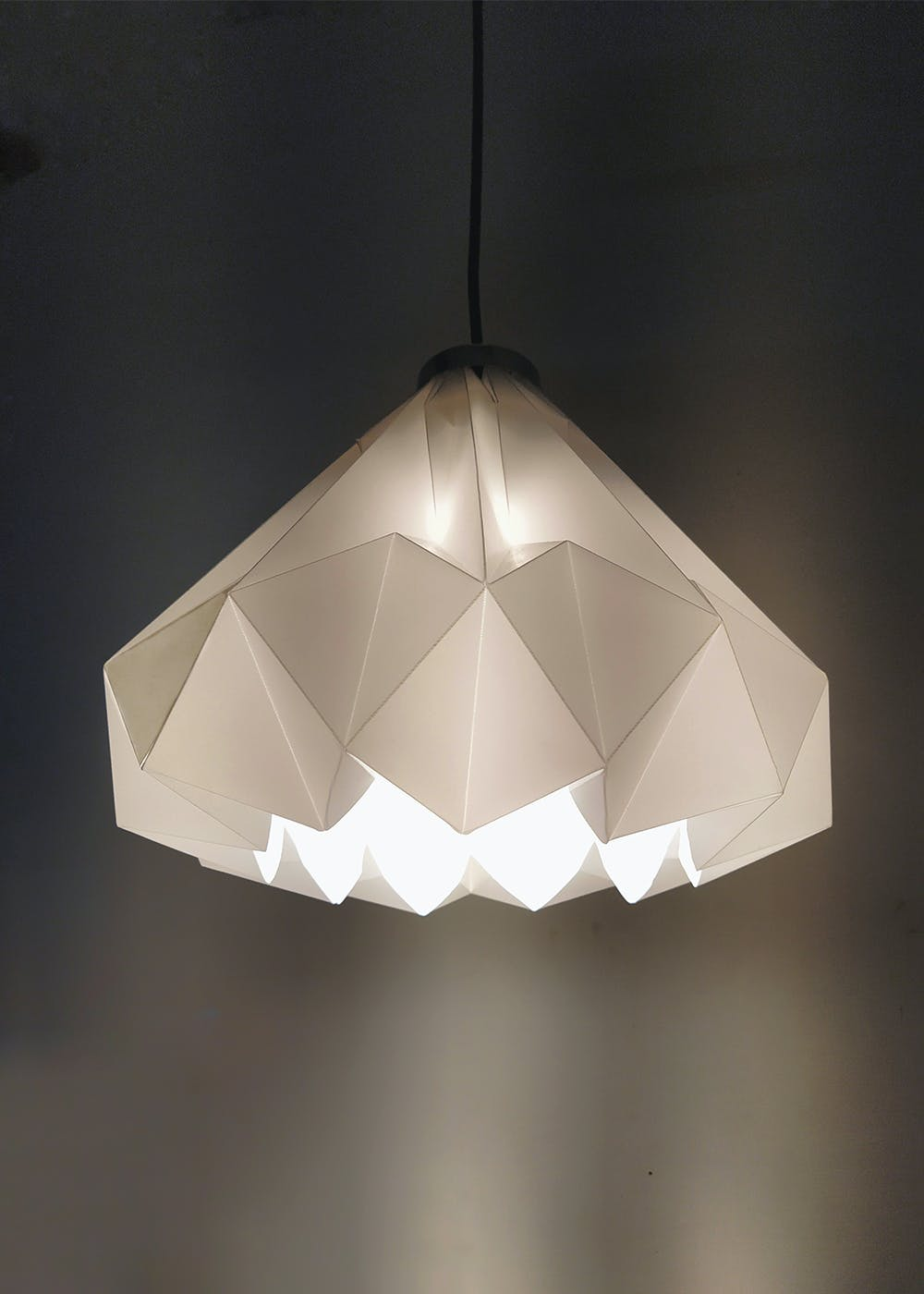 Tyndall Open Origami Ceiling Lamp