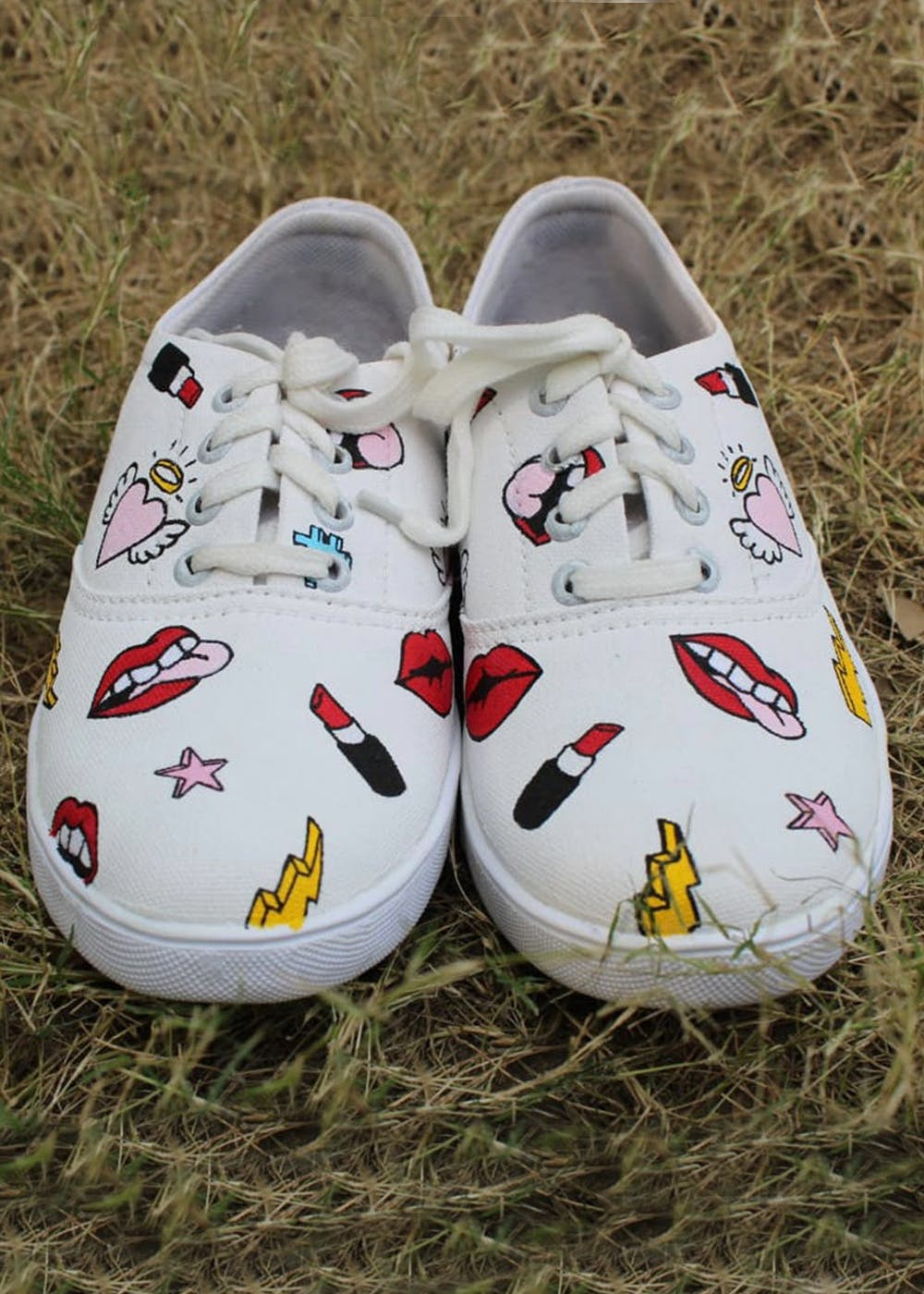 Handpainted Quirky Sneakers